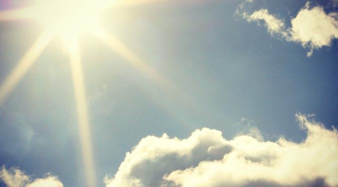 Head in the clouds..